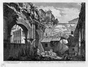 G.B. Piranesi, Il portico d'Ottavia