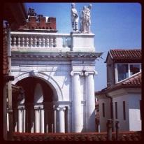 Vicenza, scorcio di Basilica