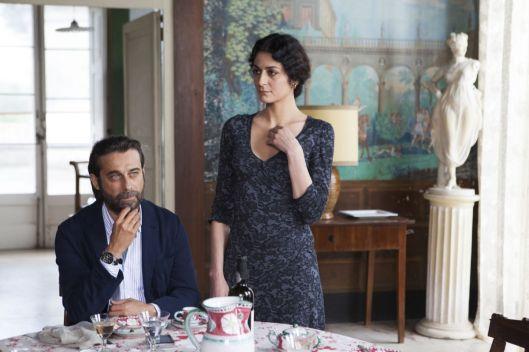 Cecilia Zingaro in una scena del film Latin Lover di Cristina Comencini